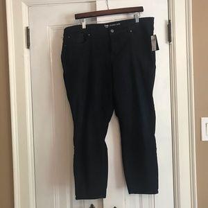 GAP NWT denim crop leggings size 18/34R
